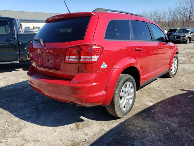 2016 DODGE JOURNEY SE - Right Rear View
