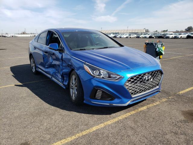 Salvage cars for sale from Copart Sacramento, CA: 2018 Hyundai Sonata Sport