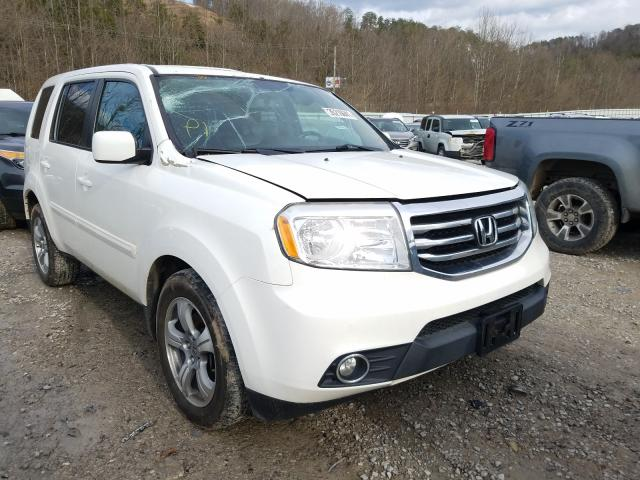 Salvage cars for sale from Copart Hurricane, WV: 2015 Honda Pilot EXL