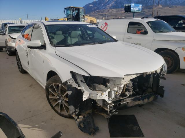 Salvage cars for sale from Copart Farr West, UT: 2016 Acura TLX Tech