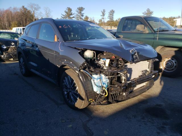 Salvage cars for sale from Copart Exeter, RI: 2020 Hyundai Tucson Limited