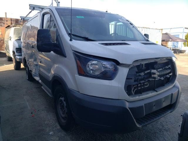 Salvage cars for sale from Copart Wilmington, CA: 2018 Ford Transit T