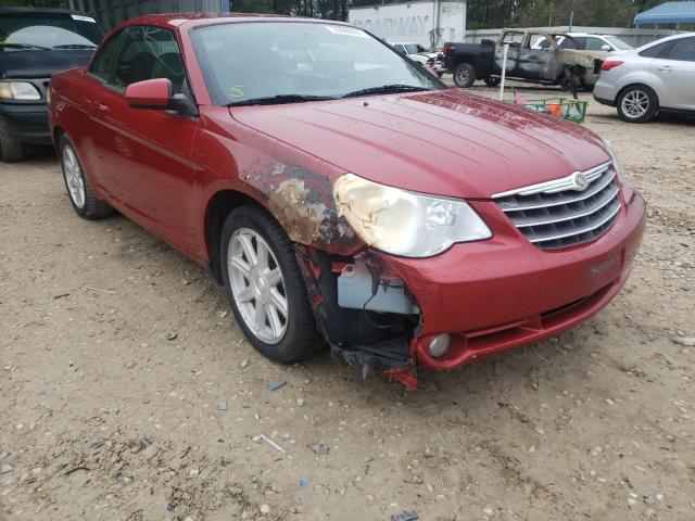Salvage cars for sale from Copart Midway, FL: 2008 Chrysler Sebring TO