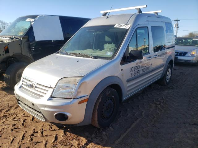 2012 FORD TRANSIT CO - Left Front View