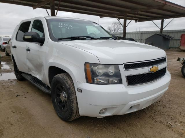 Salvage cars for sale from Copart Temple, TX: 2014 Chevrolet Tahoe Police
