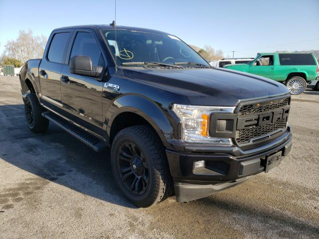 Salvage cars for sale from Copart Colton, CA: 2020 Ford F150 Super