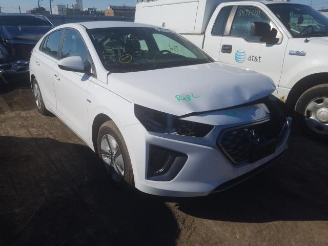2020 Hyundai Ioniq Blue en venta en Chicago Heights, IL