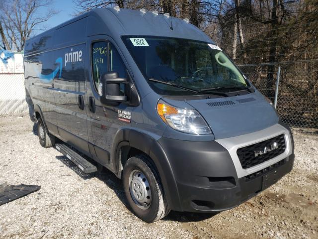 Salvage cars for sale from Copart Northfield, OH: 2019 Dodge RAM Promaster