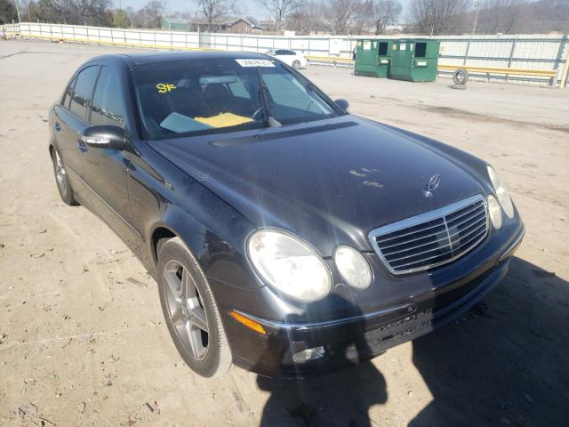 Mercedes-Benz salvage cars for sale: 2004 Mercedes-Benz E 500