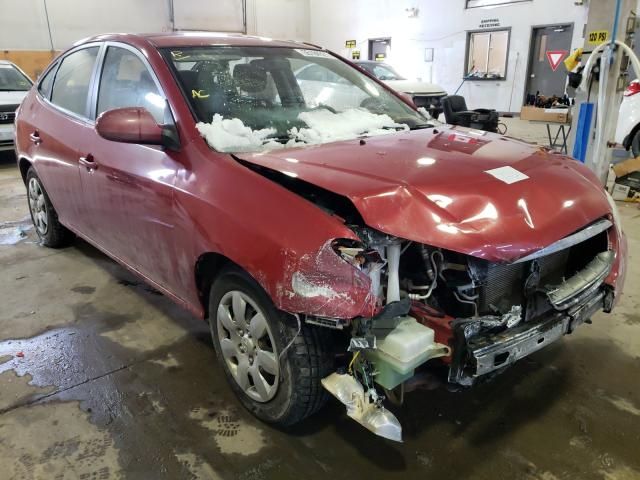 Salvage cars for sale from Copart Moncton, NB: 2009 Hyundai Elantra GL