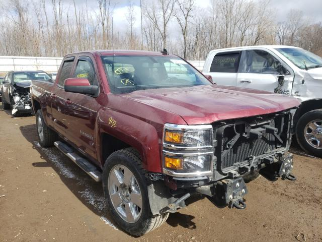 Salvage cars for sale from Copart Davison, MI: 2015 Chevrolet Silverado