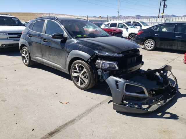 Hyundai salvage cars for sale: 2020 Hyundai Kona Ultim
