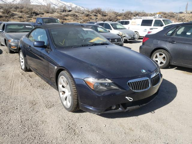 Salvage cars for sale from Copart Reno, NV: 2006 BMW 6 Series