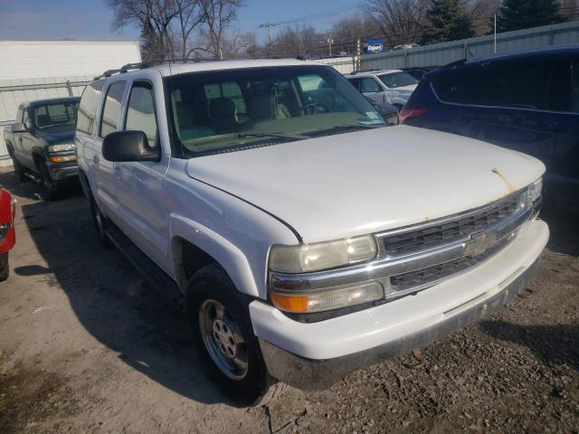 Chevrolet Suburban K salvage cars for sale: 2002 Chevrolet Suburban K