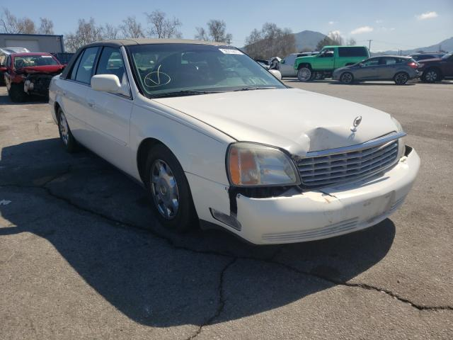 Salvage cars for sale from Copart Colton, CA: 2002 Cadillac Deville