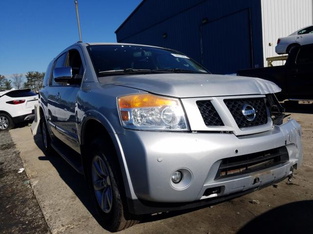 Salvage cars for sale at Windsor, NJ auction: 2009 Nissan Armada SE