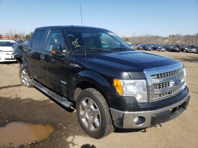 Salvage cars for sale from Copart New Britain, CT: 2013 Ford F150 Super