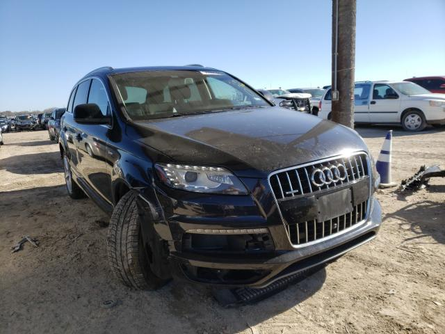 Salvage cars for sale from Copart Temple, TX: 2015 Audi Q7 Prestige