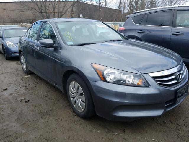 Salvage cars for sale from Copart North Billerica, MA: 2012 Honda Accord LX
