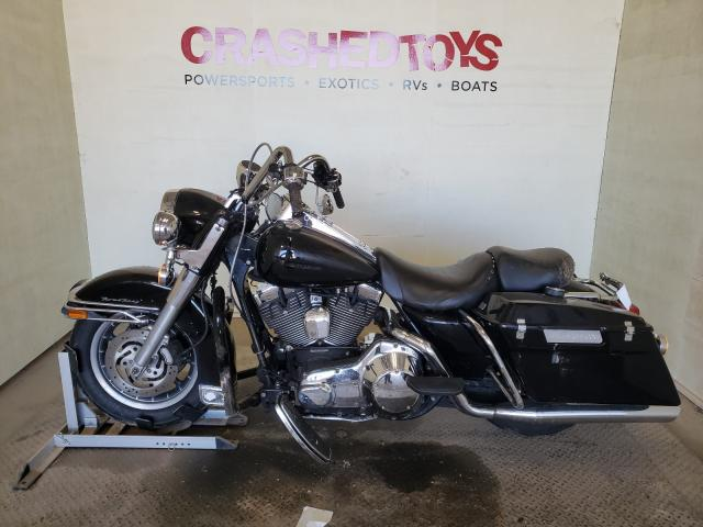 Salvage cars for sale from Copart China Grove, NC: 2001 Harley-Davidson Flhpi