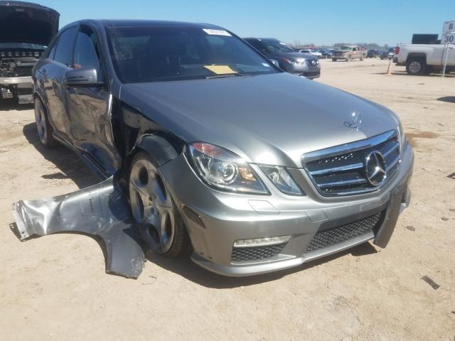 Salvage cars for sale from Copart Temple, TX: 2012 Mercedes-Benz E 63 AMG