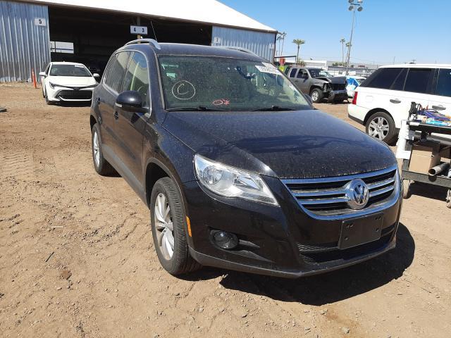Salvage cars for sale from Copart Phoenix, AZ: 2011 Volkswagen Tiguan S
