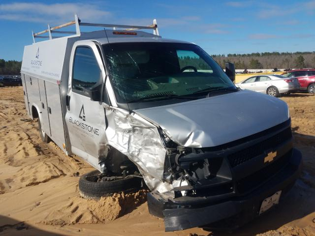 Salvage cars for sale from Copart Gaston, SC: 2014 Chevrolet Express G3