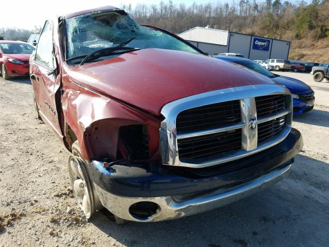 Salvage cars for sale from Copart Hurricane, WV: 2007 Dodge RAM 1500 S
