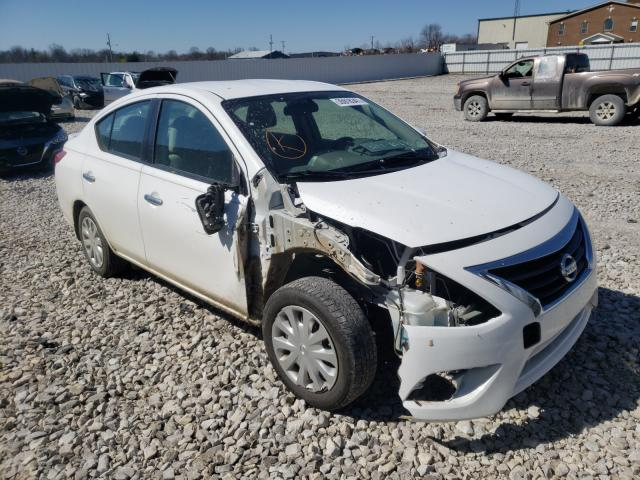 Salvage cars for sale from Copart Lawrenceburg, KY: 2016 Nissan Versa S