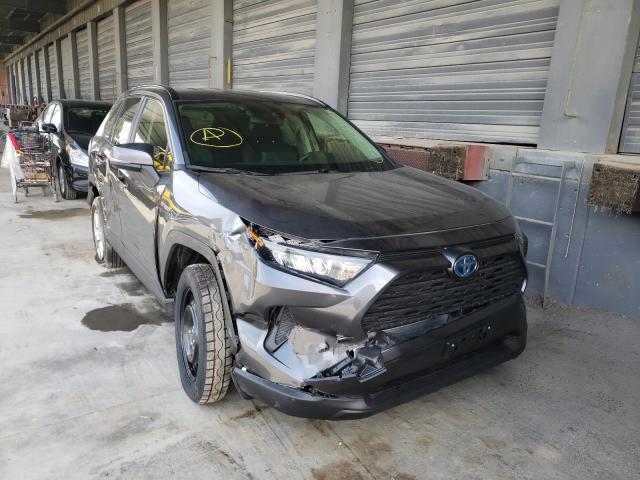 Salvage cars for sale from Copart Hayward, CA: 2020 Toyota Rav4 LE