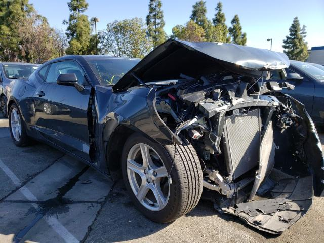 Salvage cars for sale from Copart Rancho Cucamonga, CA: 2020 Chevrolet Camaro LS