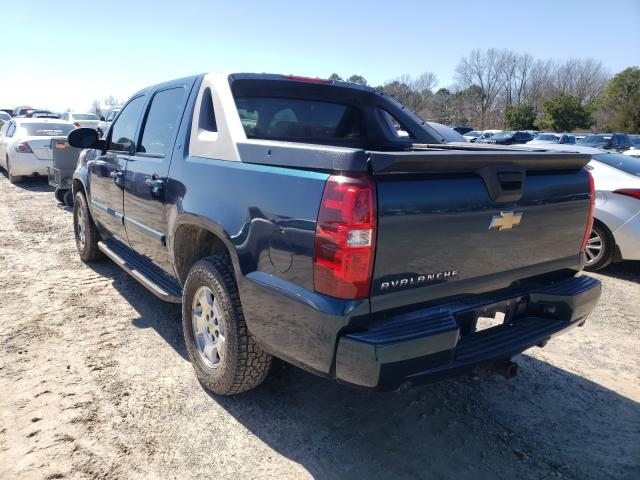 2007 CHEVROLET AVALANCHE - Right Front View