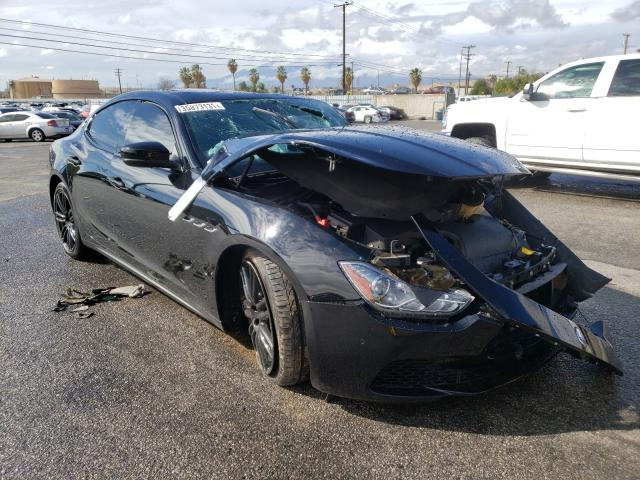 Salvage cars for sale from Copart San Diego, CA: 2017 Maserati Ghibli Sport
