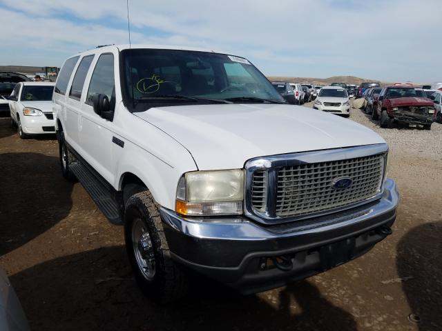 Salvage cars for sale from Copart Magna, UT: 2002 Ford Excursion