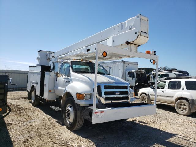 Salvage cars for sale from Copart Temple, TX: 2010 Ford F750 Super