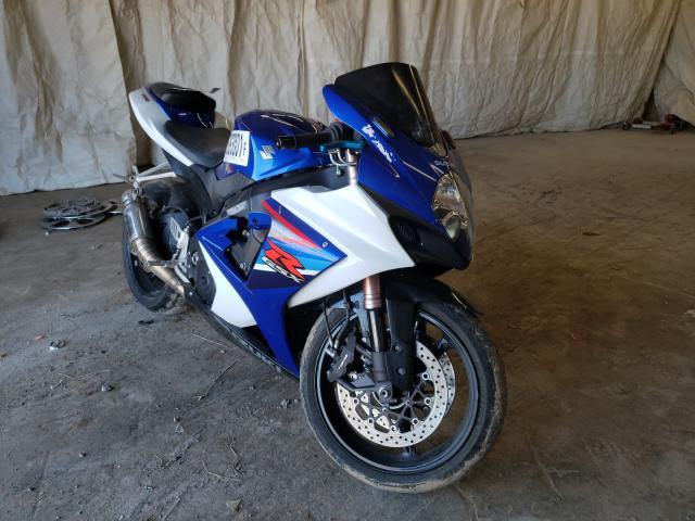 Salvage motorcycles for sale at Madisonville, TN auction: 2007 Suzuki GSX-R1000