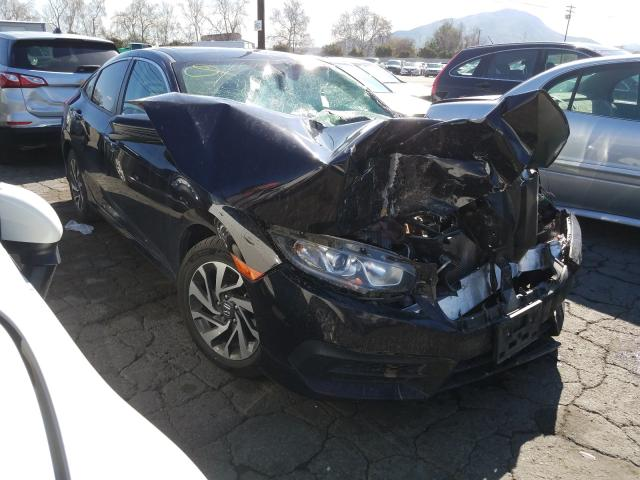 Salvage cars for sale from Copart Colton, CA: 2018 Honda Civic EX