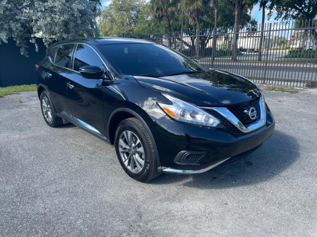Salvage cars for sale from Copart Opa Locka, FL: 2017 Nissan Murano S