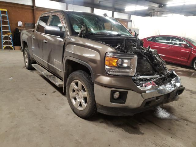 Salvage cars for sale from Copart Ebensburg, PA: 2015 GMC Sierra K15