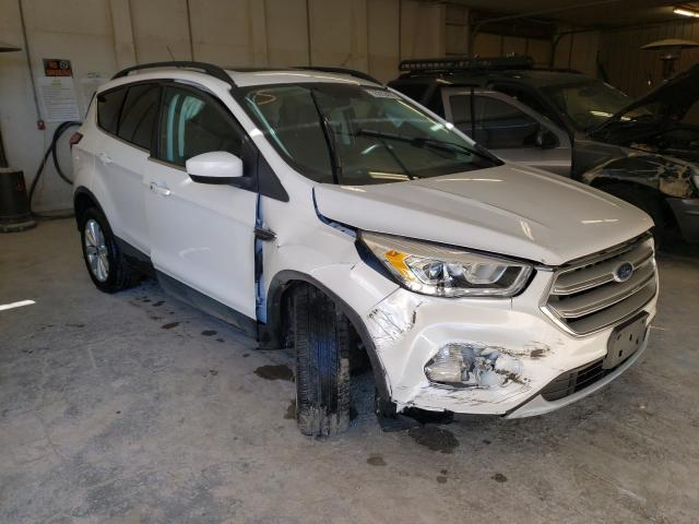Salvage cars for sale from Copart Madisonville, TN: 2019 Ford Escape SEL