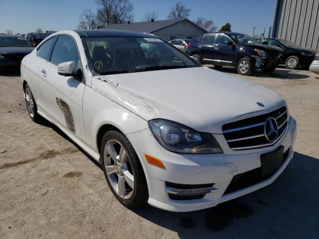 Salvage cars for sale from Copart Sikeston, MO: 2013 Mercedes-Benz C 250