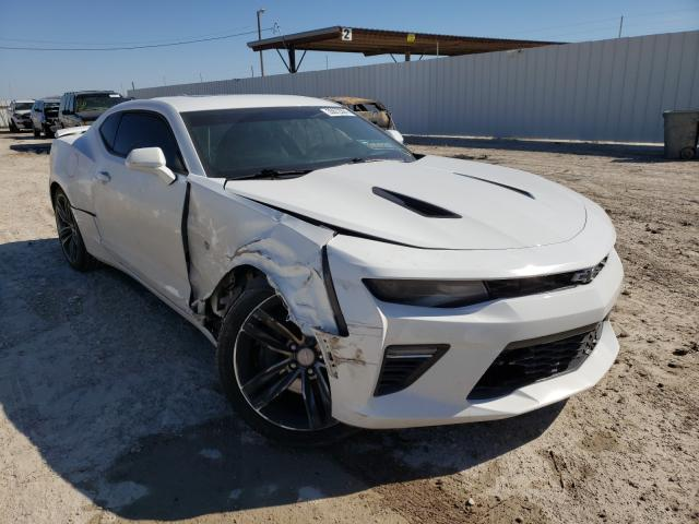 Salvage cars for sale from Copart Temple, TX: 2016 Chevrolet Camaro SS