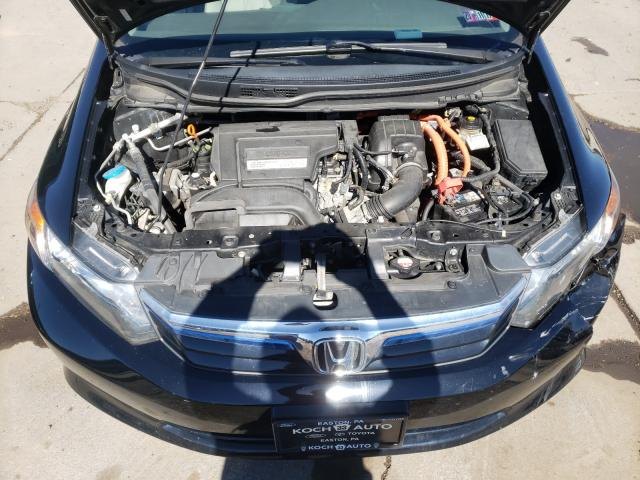 2012 HONDA CIVIC HYBR JHMFB4F37CS002140