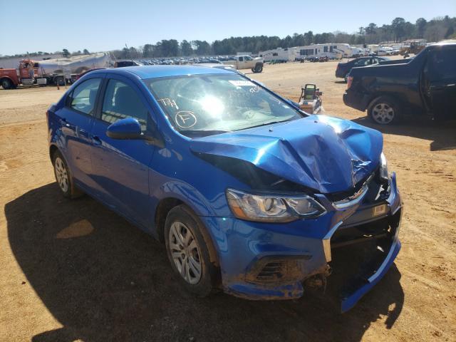 Vehiculos salvage en venta de Copart Longview, TX: 2018 Chevrolet Sonic LS