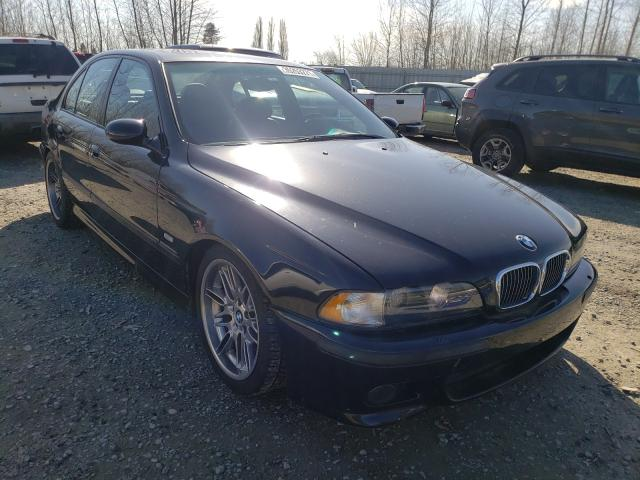 BMW M5 salvage cars for sale: 2000 BMW M5
