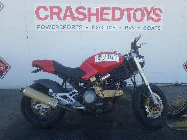 Salvage cars for sale from Copart Van Nuys, CA: 1999 Ducati M750