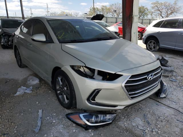 Salvage cars for sale from Copart Homestead, FL: 2018 Hyundai Elantra SE