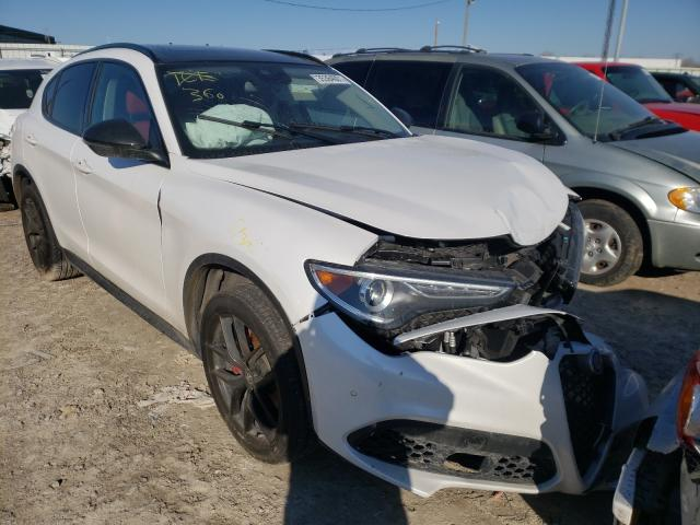 Alfa Romeo salvage cars for sale: 2019 Alfa Romeo Stelvio TI