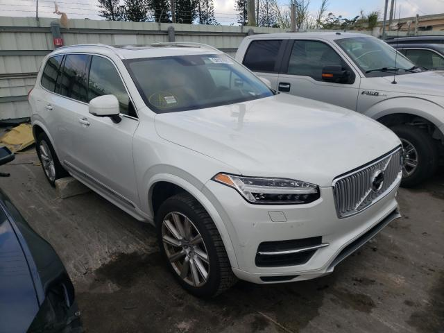 Salvage cars for sale at Miami, FL auction: 2016 Volvo XC90 T8