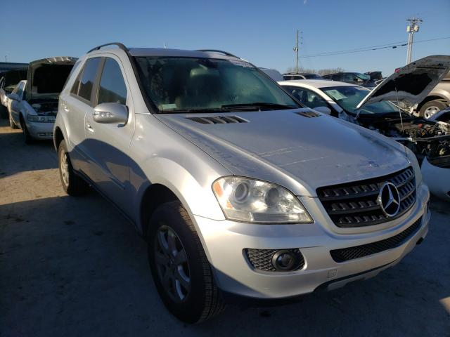 Mercedes-Benz salvage cars for sale: 2006 Mercedes-Benz ML 350